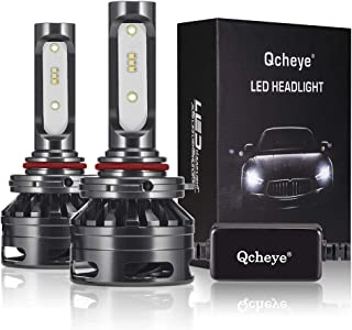 9005(HB3) LED Headlight Bulbs - 13000Lm 6000K Cool White,9005(HB3) All-in-One Conversion Kit,Adjustable Beam