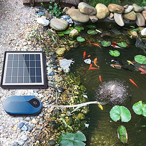 GCSEY El Oxígeno De La Bomba De Carga Solar De Oxígeno Bomba De Aire Recargable De Litio De La Batería De Alimentación del Compresor De Aire Pesca Peces De Acuario Tanque Al Aire Libre