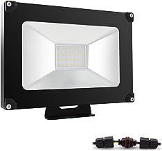 ALOTOA® 30W Foco proyector LED para Exteriores, Blanco Frío 6000K,3000lm, Resistente al Agua IP65, luz Amplia, luz de Seguridad Bajo Consumo de Energía y Alto Brillo Larga Vida …