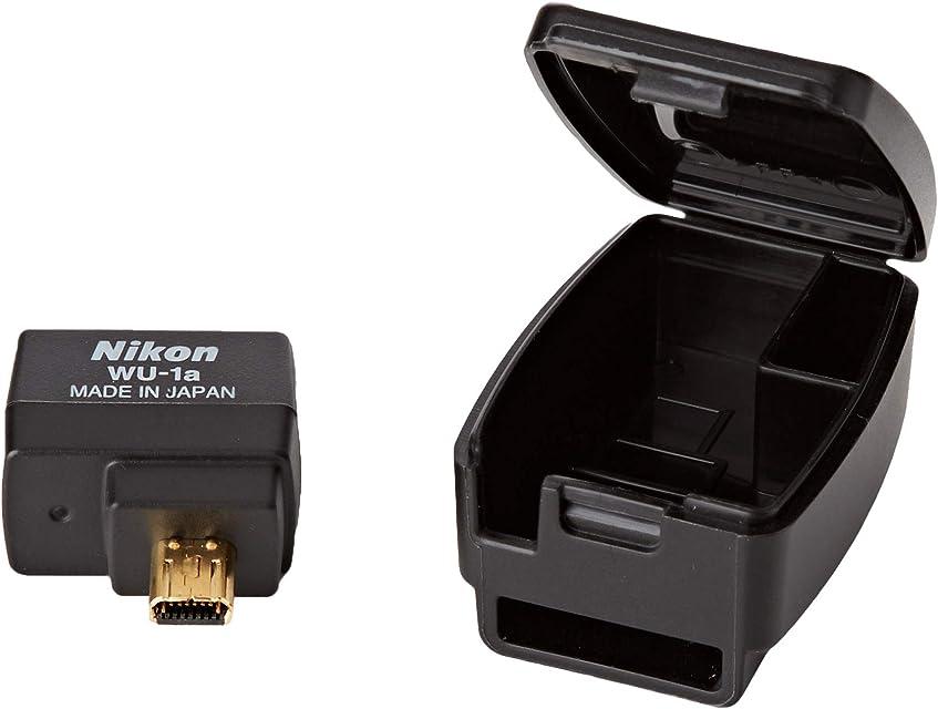 Nikon WU-1A WLAN Adapter - Adaptador de Red USB (WLAN 802.11b Port WLAN 802.11g Port) Negro