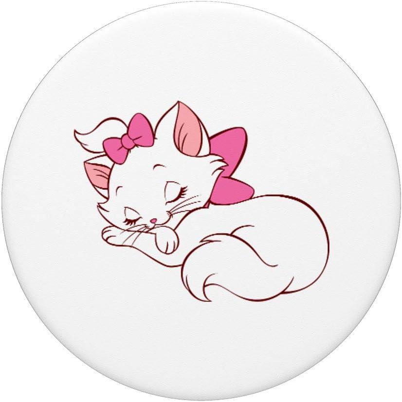filles Aristochats Cartoon PopSockets Support et Grip pour Smartphones et Tablettes Femmes cadeau de chat de Marie