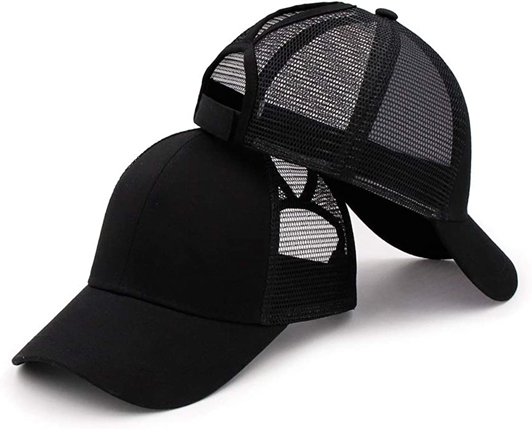 YUYOU High Ponytail Baseball Hats Cap We OFFer at cheap prices Women Bun Ponyca Messy Denver Mall for