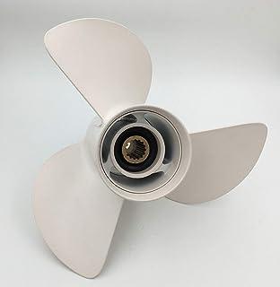 Mercury Propeller 13 X 19 Prop w// complete hub  40 60 90 75 115 125 hp bigfoot