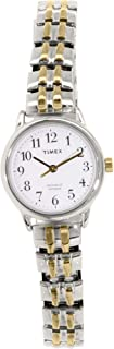 Timex Women's Quartz Watch, Analog Display and Stainless Steel Strap T2P298