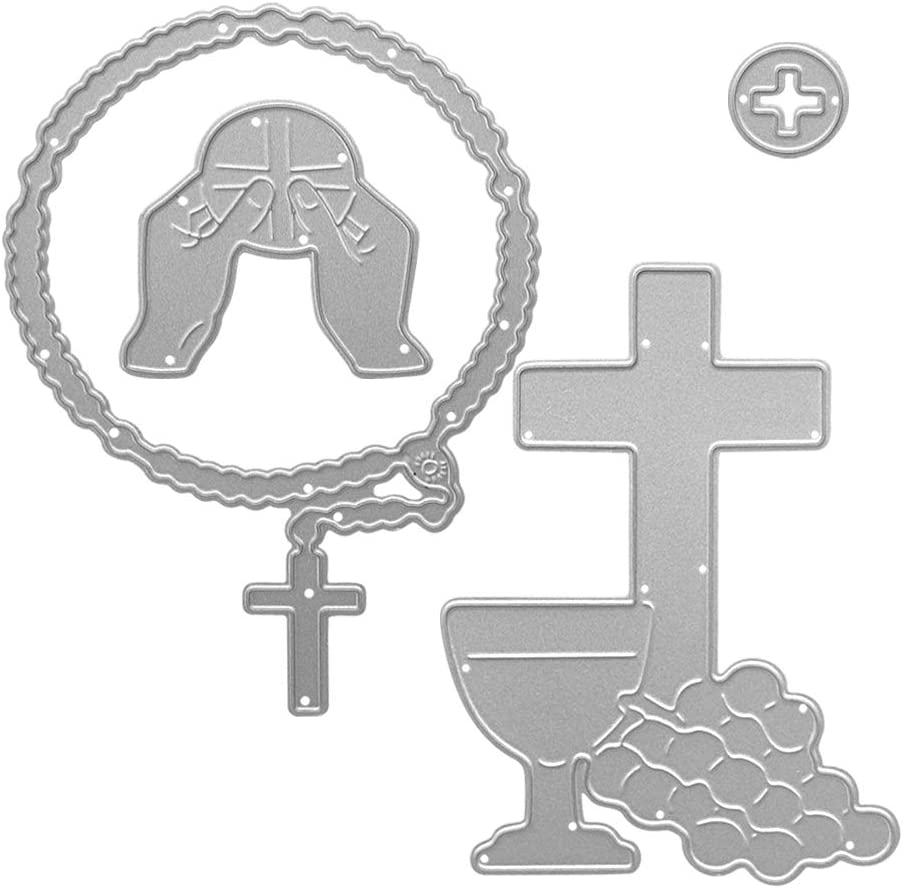 Metal The Cross of Prayer Cutting in Your 55% OFF Hold Dies Manufacturer regenerated product Ha