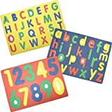 Alphabet & Numbers Foam Puzzle by DDI by GOV