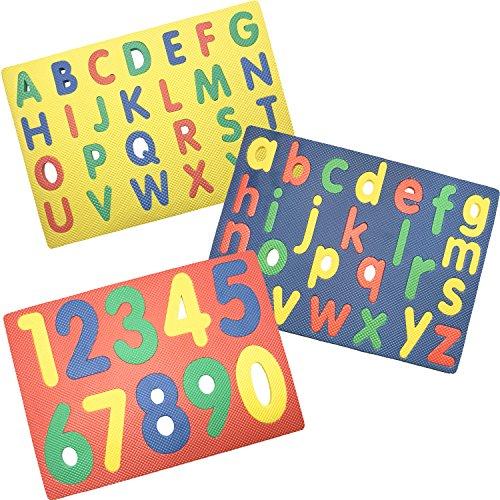 Rompecabezas de espuma Regent Alphabet & Numbers ...