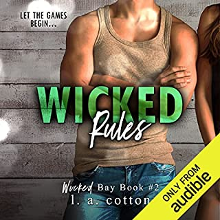 Wicked Rules                   Written by:                                                                                                                                 L. A. Cotton                               Narrated by:                                                                                                                                 Luiza Westwood,                                                                                        Fred Berman                      Length: 8 hrs and 11 mins     Not rated yet     Overall 0.0