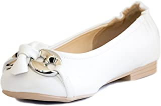 BF Sole Lady Bow Round Toe Ballet Flat Shoes