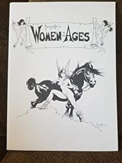 FRANK FRAZETTA Portfolio, WOMAN of the AGES #743/1500, 1977, NM-, 6 prints + COA Folder Envelope