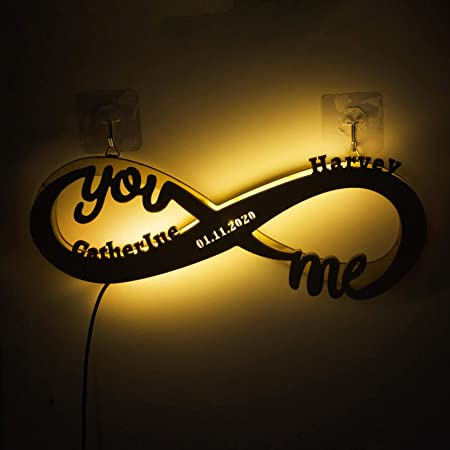 Wedding I Love You Neon Light Sign LED Custom- Gift For Her Or Him Unique hand crafted custom neon sign for decoration Gift For Couples