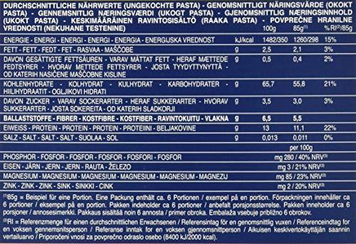 Barilla Vollkorn Pasta Penne Rigate Integrale – 6er Pack (6 x 500g) - 6