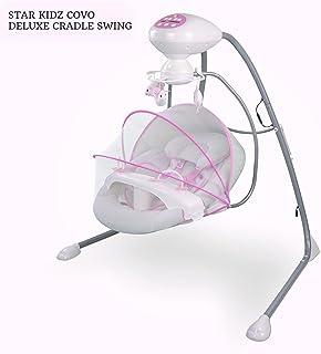Star Kidz Covo Deluxe Cradle Swing - Pink