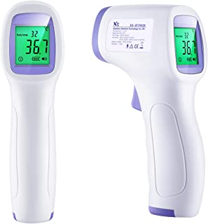 Infrared Thermometer No Touch with Large Digital Screen, Instant Accurate Reading, Fever Beeper for Home, Outdoor, Baby, Adult 【Stock in US】