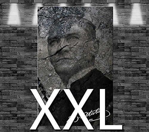 Premium Kunstdruck Leinwandbild - Kemal Atatürk auf Leinwand - aufgespannt auf 2cm Keilrahmen, aus Deutscher Herstellung, 110x70cm, Größe XXL