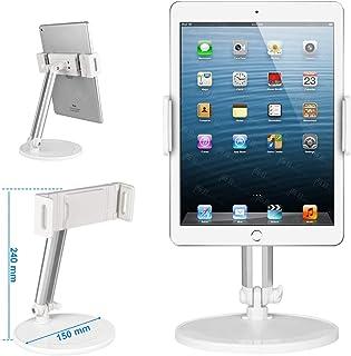 Dodo TECH タブレットスタンド スマホスタンド テレワーク アームスタンド スマホホルダー 高い汎用性 360度角度調整 卓上 置き5-12.9インチタブレット スマホ アイフォン アイパッド ミニ エア プロ, iPhone iPad...