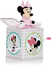 Disney Baby Minnie Mouse Jack-in-The-Box - Musical Toy for Babies