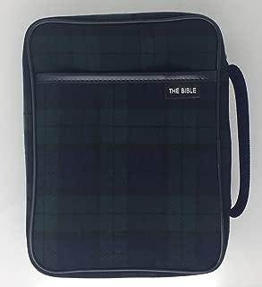 聖書カバー ブラックウォッチ B6 中型用 54067
