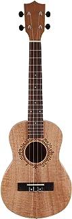 REFURBISHHOUSE Ukelele de 26 Pulgadas Okoume Madera 18 Trastes Ukelele Tenor Guitarra AcúStica de Caoba Principiante Uke Hawaii Guitarra de 4 Cuerdas