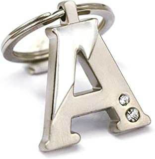 New Arrival Initial Letter A Key Ring with Pouch Bag Z75-M0716