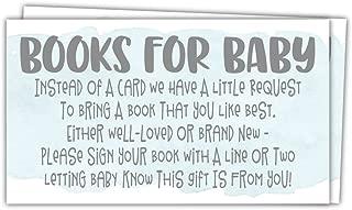 Best baby shower book request insert Reviews