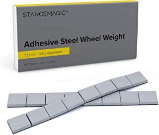 Perfect AW Style Steel Wheel Weights .25-2.00 oz 200pcs