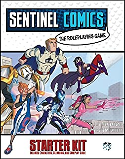 Greater Than Games SRPG:SKIT Sentinels Comics: Role-Playing Game Starter Kit