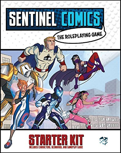 Greater Than Games SRPG:SKIT Sentinels Comics: Role-Playing...