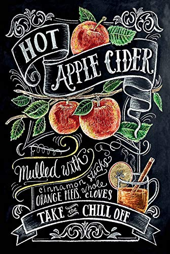 Schatzmix alcohol Hot Apple Cider Recept metalen bord wanddecoratie 20x30 cm tin sign blikken bord, blik, meerkleurig