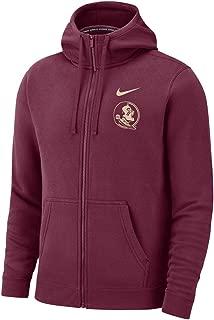 Nike Men's Florida State Seminoles Full Zip Fleece Club Hoodie