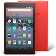 """Fire HD 8 Tablet (8"""" HD Display, 16 GB, with Special Offers) - Red"""