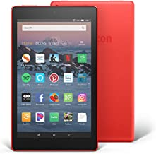 """Certified Refurbished Fire HD 8 Tablet (8"""" HD Display, 16 GB) - Red (Previous Generation - 8th)"""