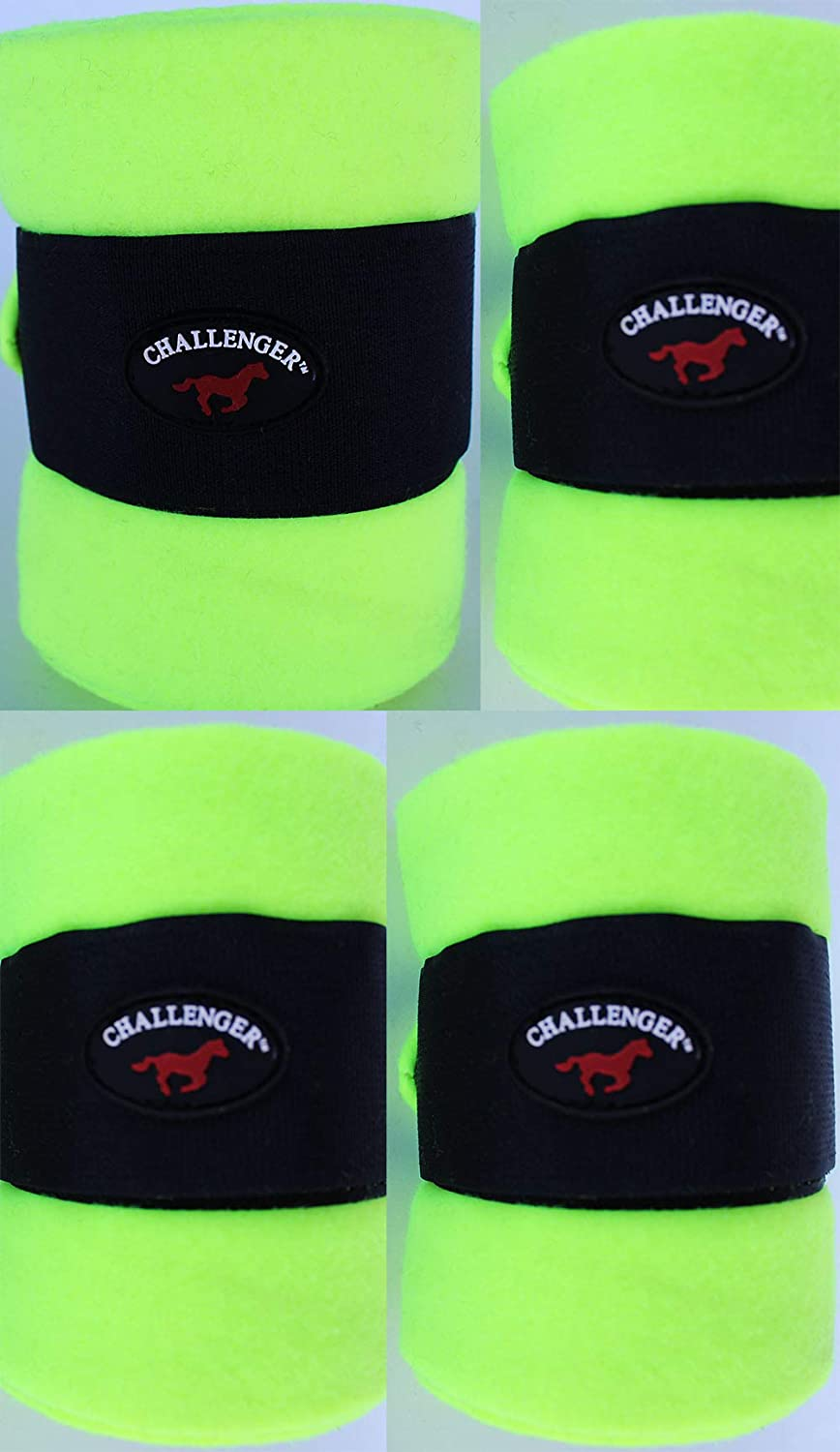 CHALLENGER Horse Tack Grooming Leg Set of 4 Polo Wrap 95R26