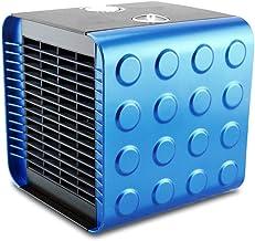 ZUOANCHEN Calentador Eléctrico Portátil Calentador De Ventilador Eléctrico De Cerámica De PTC Ligero con 2 Configuraciones De Calor Viento Natural/Viento Cálido, (Color : Azul)