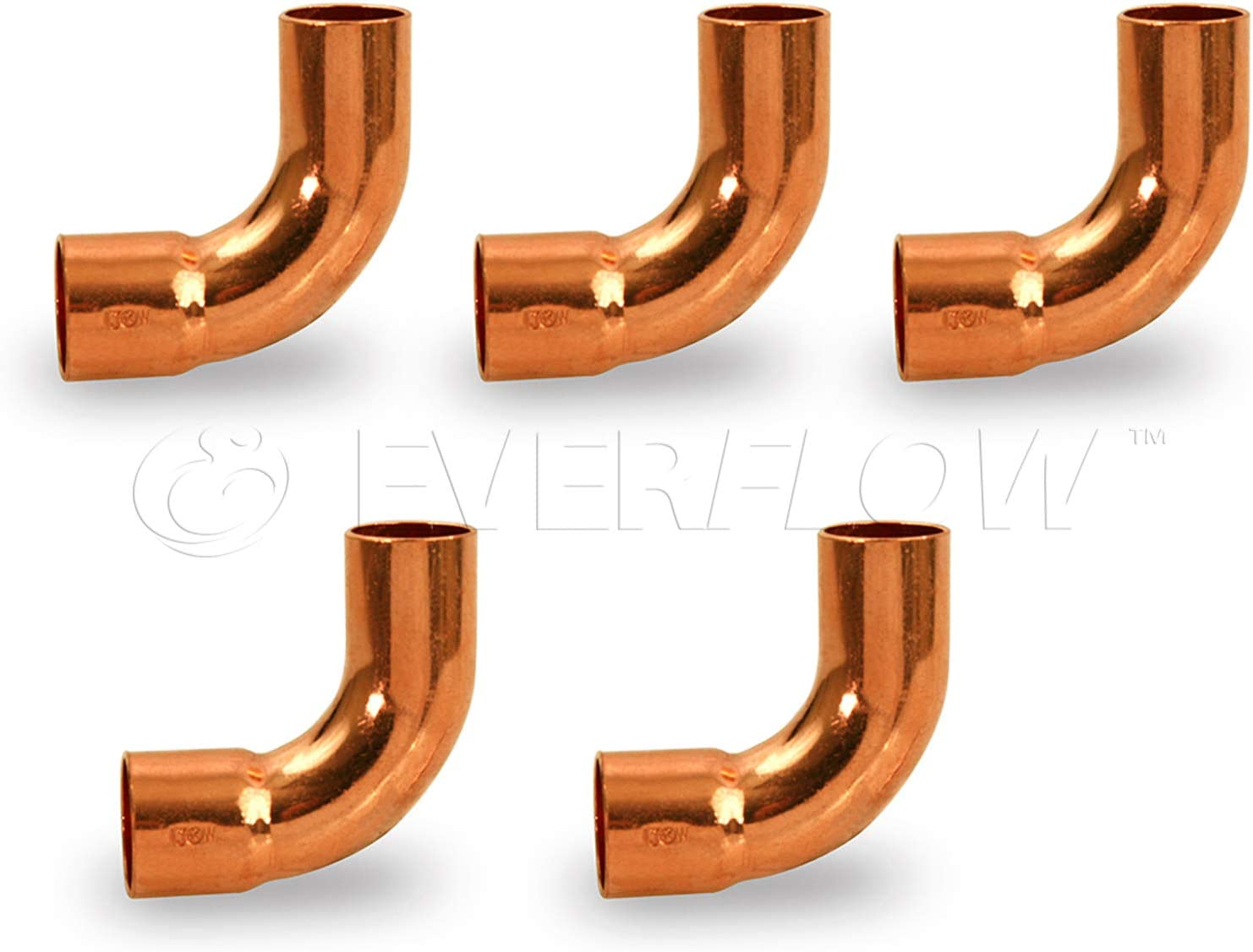 Max 67% OFF Supply Giant DMUT0212-5 Sales of SALE items from new works 90 degrees Street Elbow Turn Copper Long