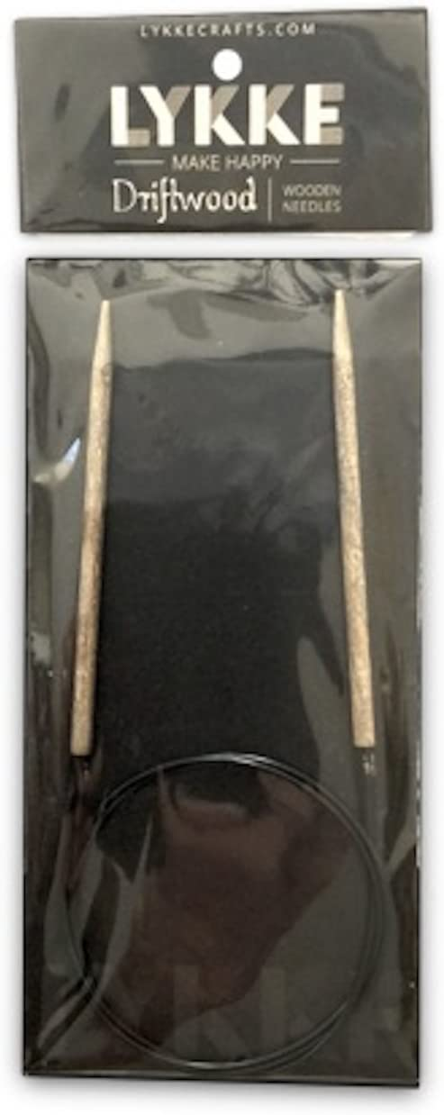 7 US 24 in Lykke :Driftwood Circular Needles: