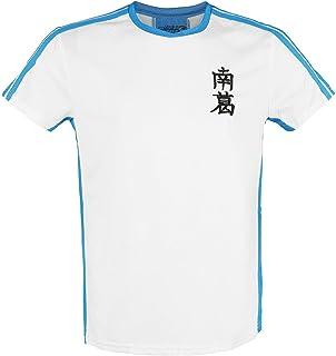 Captain Tsubasa Tsubasa 10 Hombre Camiseta Blanco, Regular
