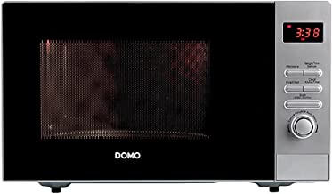 Domo DO 2923 - Microondas sencillos, 800 W, color gris