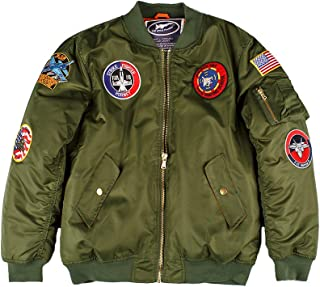 Up and Away Adult MA-1 Flight Bomber Jacket
