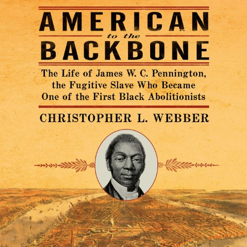 American to the Backbone audiobook cover art