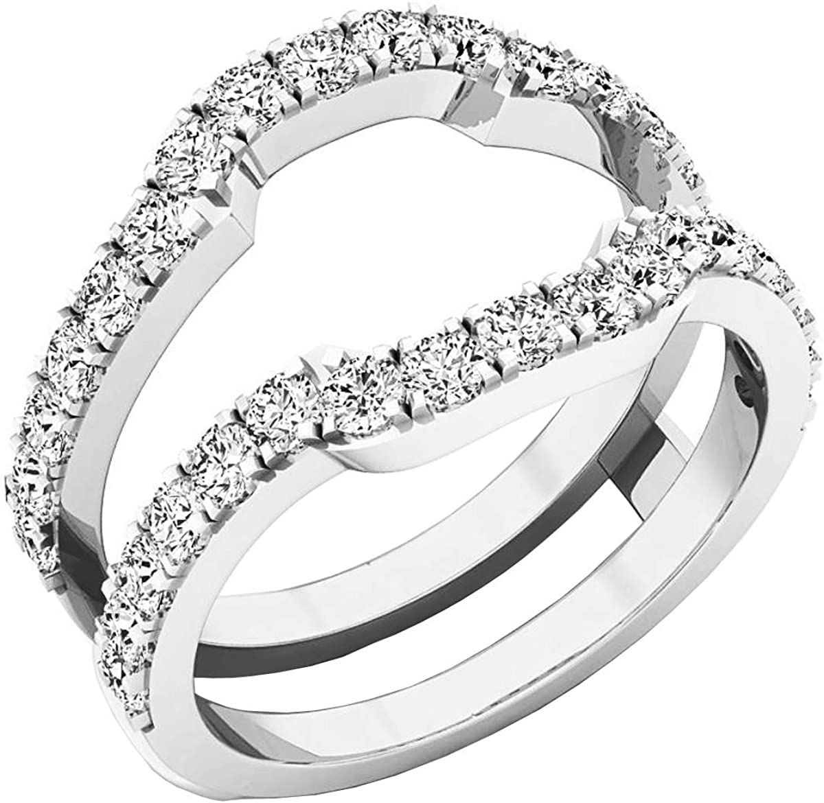 Dazzlingrock sold out Collection Diamond Wedding Guard Ring supreme Enhancer Band