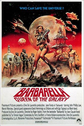 Poster 60 x 90 cm: Barbarella von Everett Collection - hochwertiger Kunstdruck, neues Kunstposter