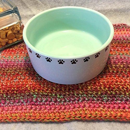 Pet Dish Mat, Tea Mat, Basket Stuffing, Photo Prop, Bump Blanket, Crochet