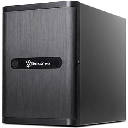 Silver Stone DriveStrage CASE Mini-ITX 黒 SST-DS380B