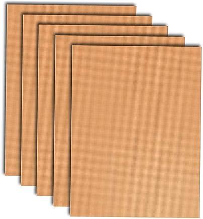 tefl/ón de alta resistencia para barbacoa forro antiadherente y reutilizable Juego de 4 tapetes de cobre de Fineway