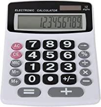 Lily's Home Jumbo 12-Digit Desktop Calculator