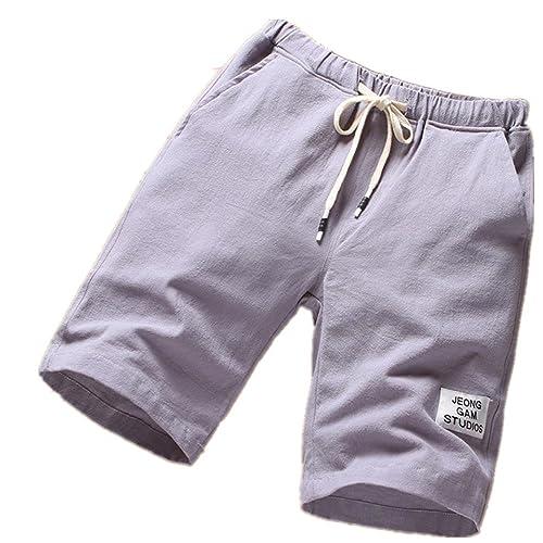 4e820b75bd1e Inverlee Men Trouser Mens Beach Pants Sports Breathable Fashion Pants  Summer Fitness Running Pants