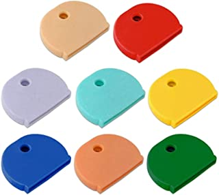 Lucky Line Key Caps. X-Large, 150 per Box, Assorted Colors (16000), Industrial Fit