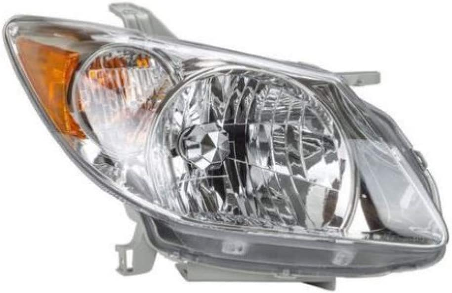 For Pontiac Vibe Ranking TOP7 Headlight 2005 Fixed price for sale 06 Side GM2503 2008 Passenger 07