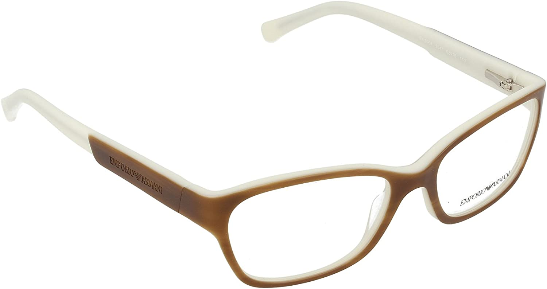 Emporio Armani EA3004 Eyeglasses5047 Striped Brown Cream52mm